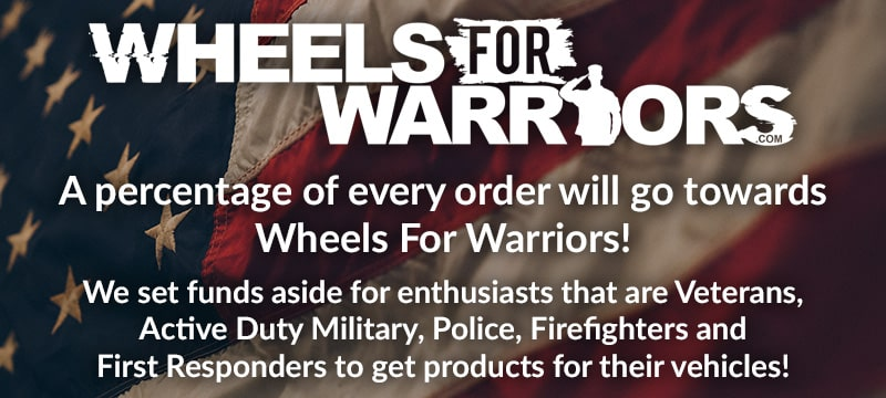 Wheels For Warriors Footer Banner