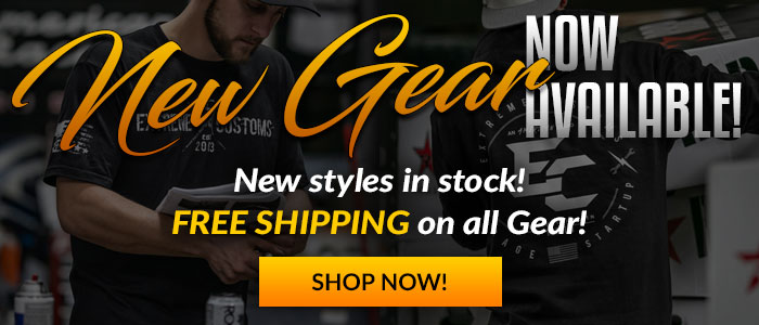 New Gear Available Now