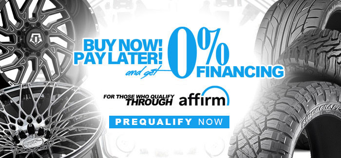 0% Financing with Affirm