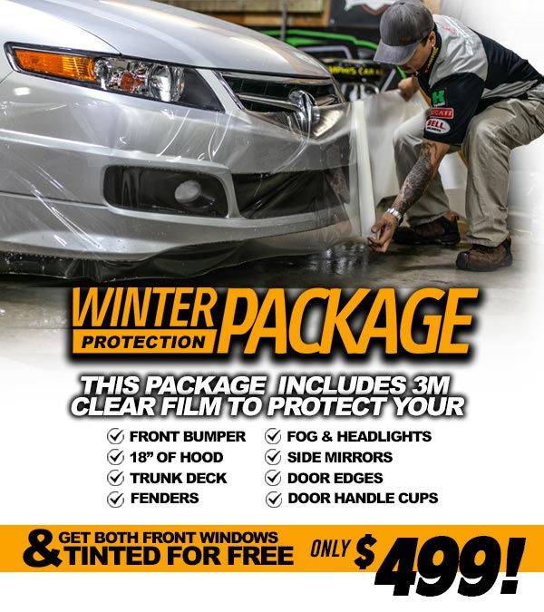 Winter Protection Package - $499