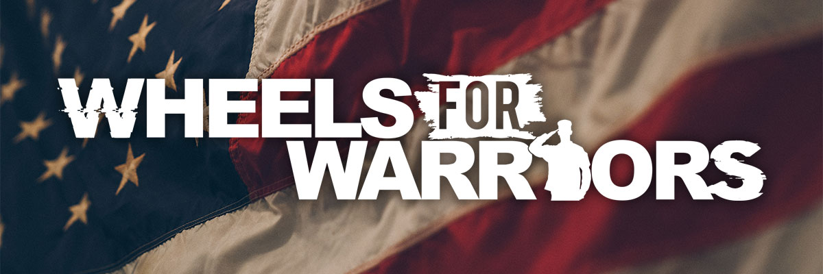 Wheels For Warriors Logo Banner