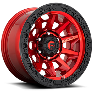 Fuel Covert D695 Candy Red W/ Black Lip