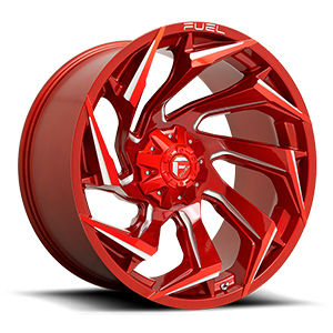 Fuel D754 Reaction Candy Red Milled