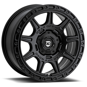 Gear Offroad Sector-C 758 Satin Black