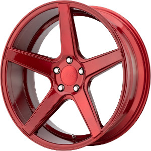 KMC KM685 District Candy Red