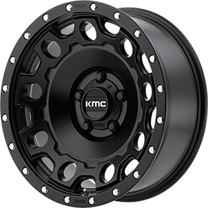 KMC KM529 Holeshot Satin Black