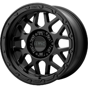 KMC KM535 Grenade Off-Road Matte Black