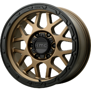 KMC KM535 Grenade Off-Road Matte Bronze Black Lip