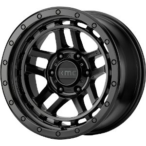 KMC KM540 Recon Satin Black