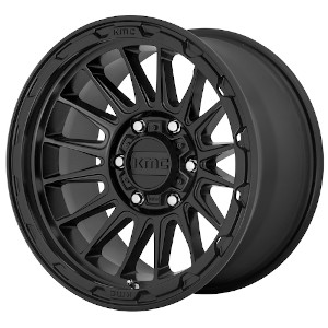 KMC KM542 Impact Satin Black