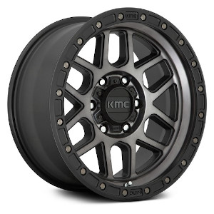 KMC KM544 Mesa Satin Black W/ Gray Tint
