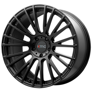 KMC KM706 Impact Satin Black