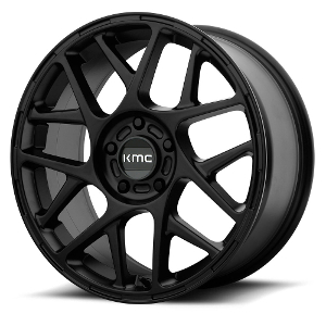 KMC KM708 Bully Satin Black
