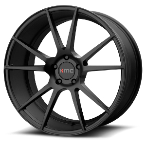 KMC KM709 Flux Satin Black