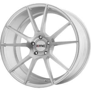 KMC KM709 Flux Brushed Silver