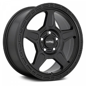 KMC KM721 Alpine Satin Black