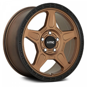 KMC KM721 Matte Bronze W/ Black Lip