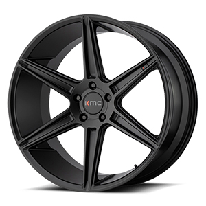 KMC KM711 Prism Satin Black