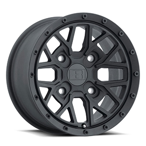 Level 8 Anarchy UTV Matte Black
