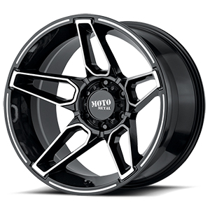 Moto Metal MO994 Gloss Black W/ Machined Face