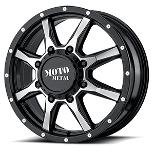 Moto Metal MO995 Gloss Black W/ Machined Face Front