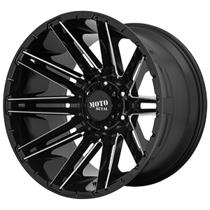 Moto Metal MO998 Gloss Black W/ Milled Spokes