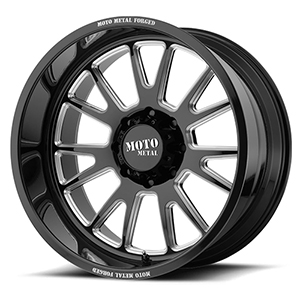 Moto Metal MO401 Gloss Black W/ Milled Spokes