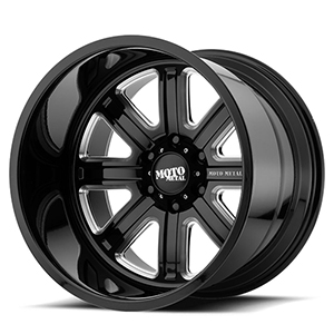 Moto Metal MO402 Gloss Black W/ Milled Spokes