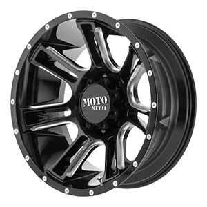 Moto Metal MO982 Gloss Black W/ Milled Spokes