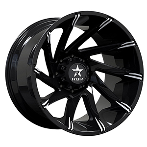 Rolling Big Power 77R Spike Gloss Black W/ Machined Tips