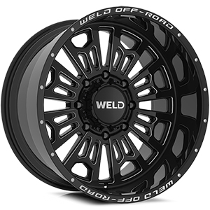 Weld Off-Road Elicit Gloss Black Milled