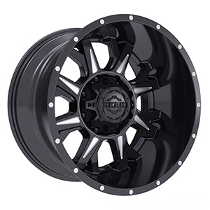 Gear Offroad Kickstand 742 Gloss Black W/ Milled Accents