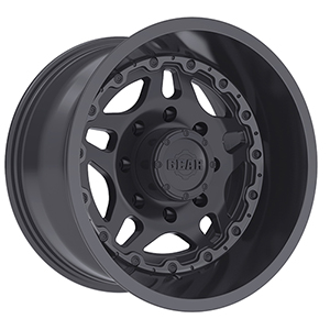 Gear Offroad Drivetrain 744 Satin Black W/ Gloss Black Lip