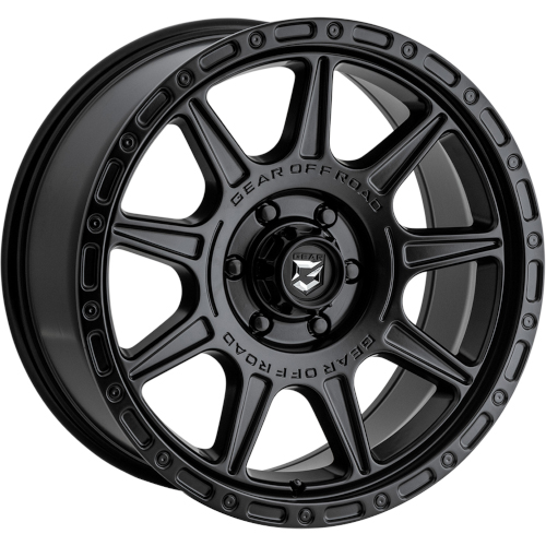 Gear Offroad Sector-T 759 Satin Black