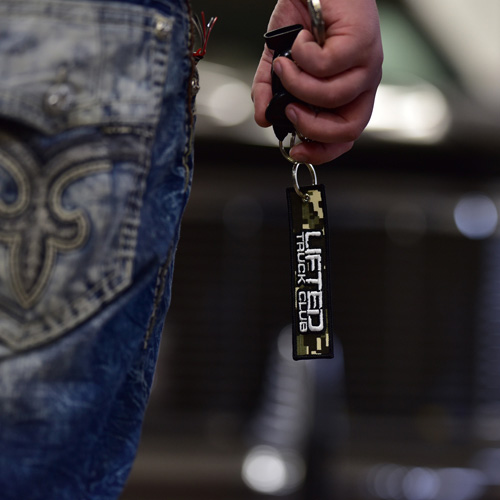 Lifted Truck Club Jet Tag Keychain