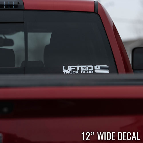 LTC Decal - Small Flag - 12x2