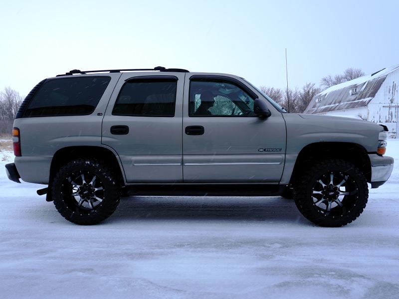12 Inch Lift Kit >> 2000 Chevrolet Tahoe - 20x12 Moto Metal Wheels 33x12.5R20 Atturo Tires Rough Country 1.5-2-inch ...