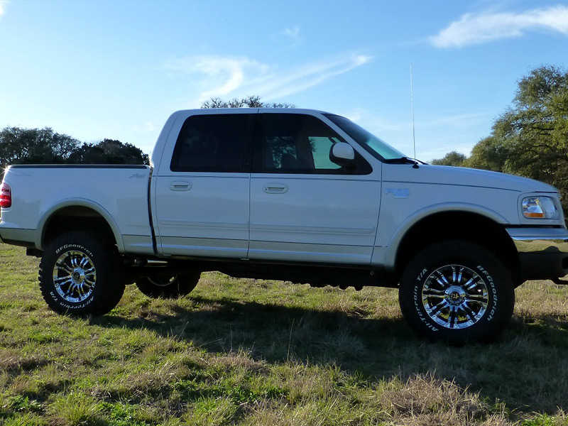 Bfgoodrich All Terrain Ta Ko2 Price >> 2001 Ford F-150 - 18x9 RBP Wheels 35x12.5R18 BFGoodrich Tires 3-inch suspension lift kit