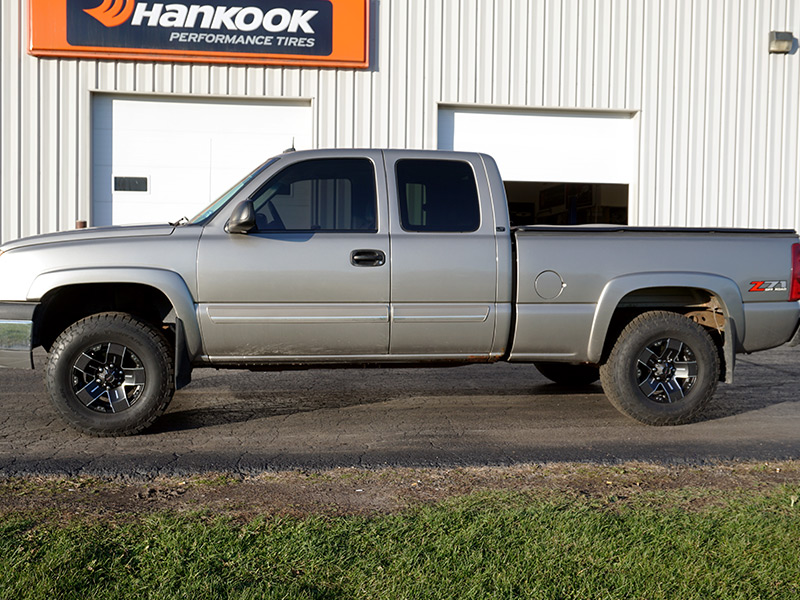 2003 chevrolet silverado 1500 16x8 ballistic. Black Bedroom Furniture Sets. Home Design Ideas