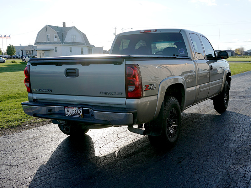 2003 Chevrolet Silverado 1500 - 16x8 Ballistic Wheels 265 ...