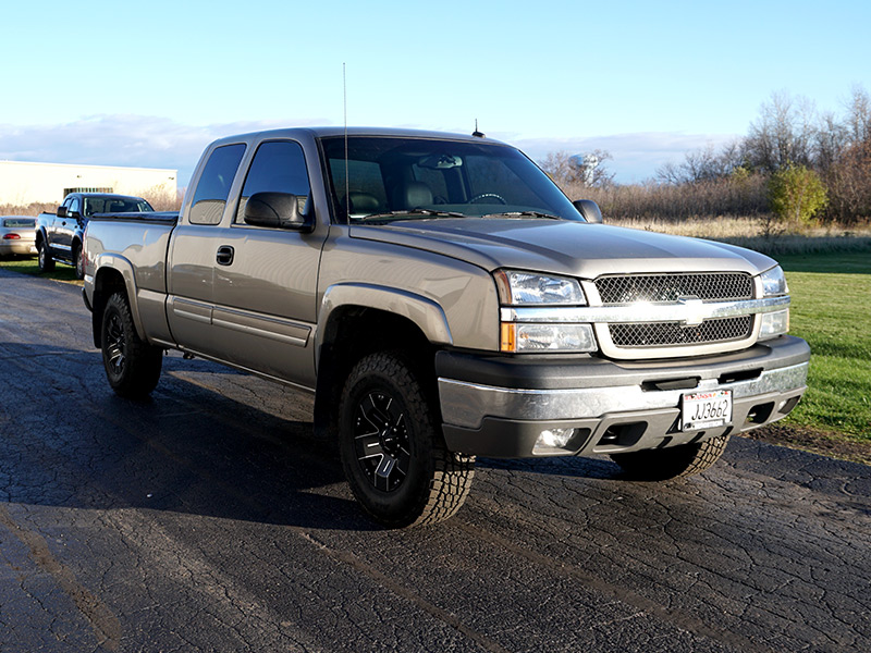 6 Inch Lift Kit For Chevy Silverado 1500 >> 2003 Chevrolet Silverado 1500 - 16x8 Ballistic Wheels 265