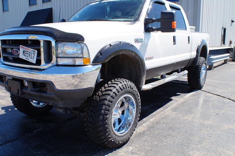 Wholesale Tires Free Shipping >> 2003 Ford F-250 Super Duty - 20x12 Moto Metal Wheels 37x13.5R20 Atturo Tires 8-inch suspension ...