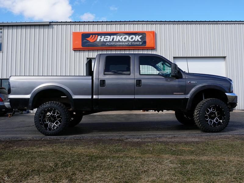 2003 Ford F350 6 Inch Lift Kit Moto Metal 981 20x12 44 Offset 20 By 12