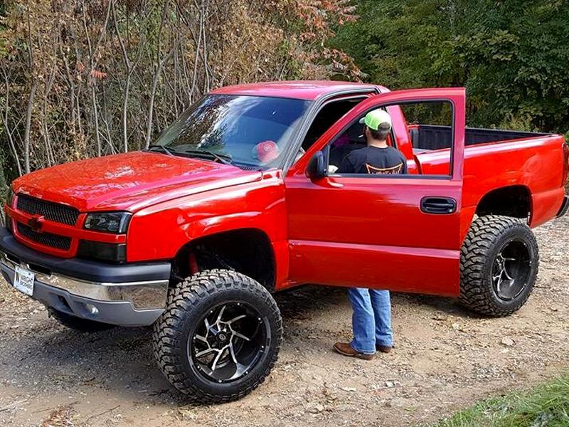 6 Inch Lift Kit For Chevy 1500 4wd >> 2004 Chevrolet Silverado 1500 - 20x12 Vision Wheels 35x12 ...
