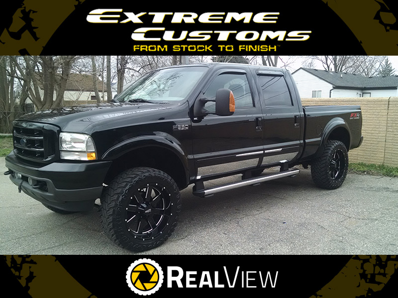 2004 Ford F-350 Super Duty - 22x10 Moto Metal Wheels 35x12 ...