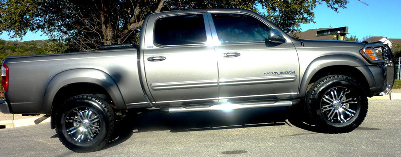 275 70r18 Tires >> 2004 Toyota Tundra - 18x9 Eagle Alloy Wheels 275/70R18 BFGoodrich Tires 3-inch suspension lift kit