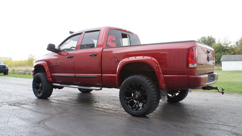 33 12 50 20 >> 2006 Dodge Ram 2500 20x10 Fuel Offroad Wheels 33x12 5r20