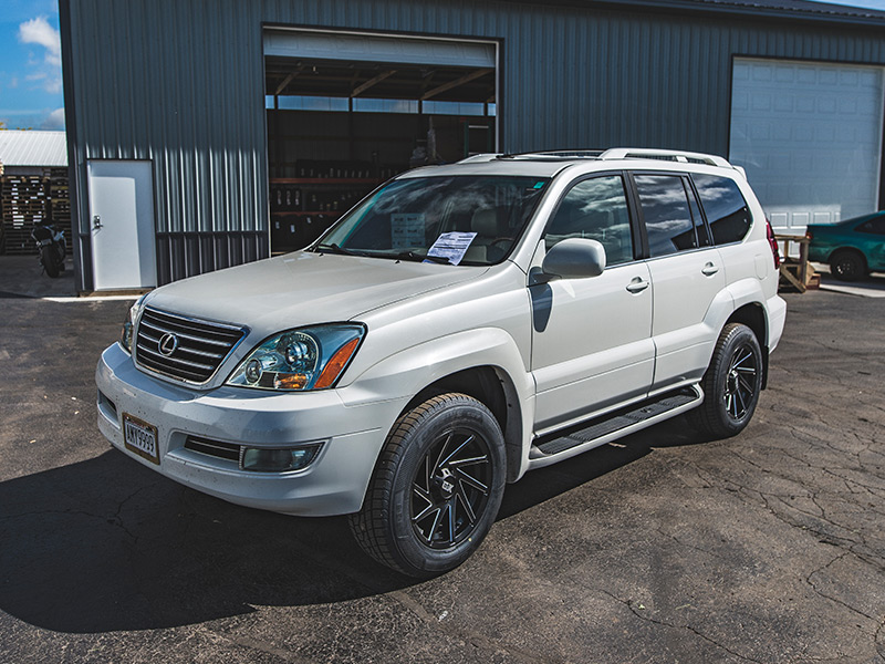 Toyo Celsius Cuv >> 2006 Lexus GX470 - 18x9 XD Series Wheels