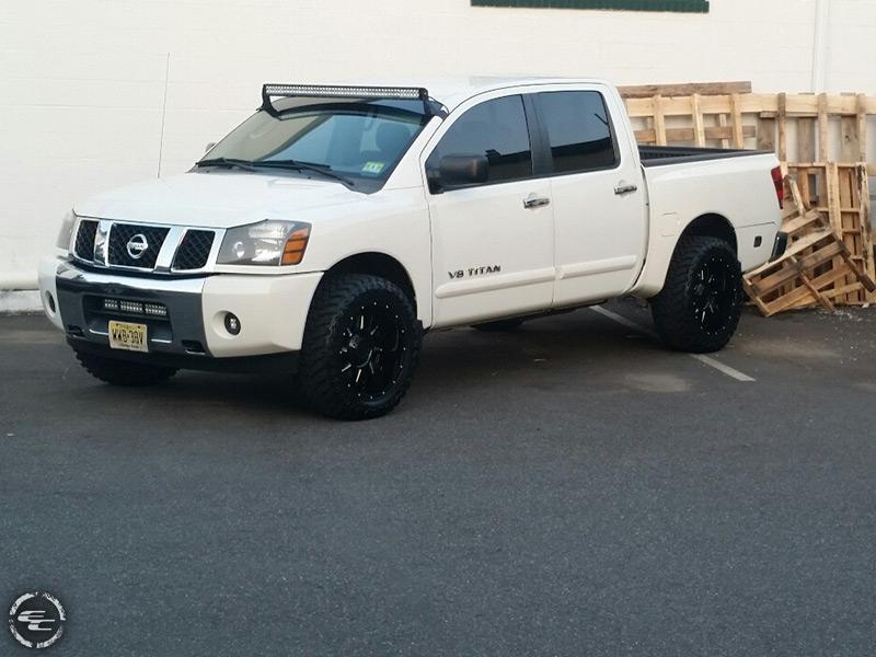 2006 Nissan Titan 20x10 Gear Alloy Wheels 33x12 5r20 Atturo Tires