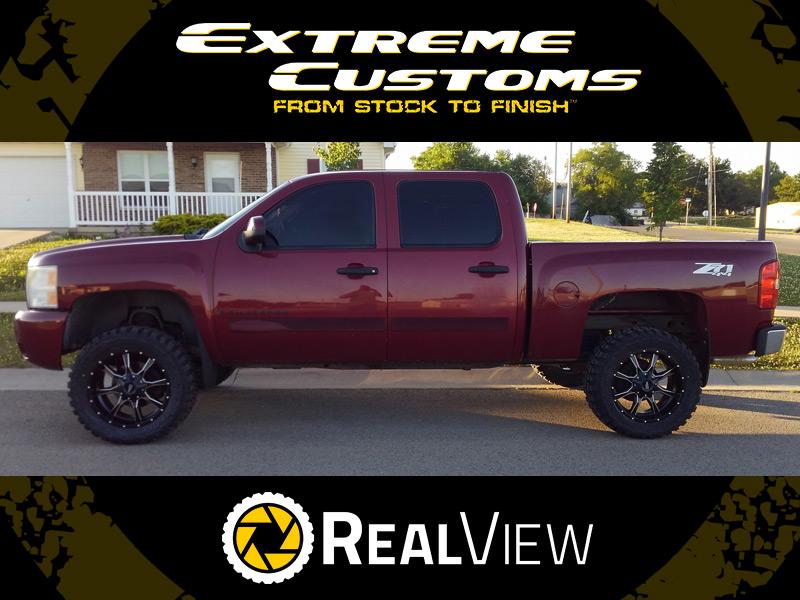 3 Inch Lift Kit >> 2007 Chevrolet Silverado 1500 - 20x9 Moto Metal Wheels 33x12.5R20 Federal Tires Rough Country 5 ...